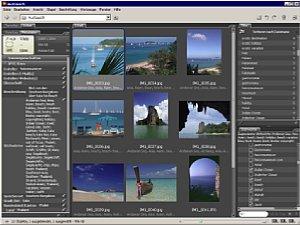 Beste Möglichkeiten zum Sichten und Ändern der IPTC-Texte bietet Bridge, die Bilddatenbank zu Photoshop CS2 und CS3 [Fotos: Heico Neumeyer]