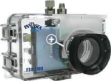 Fantasea Unterwassergehäuse FSD-1100 für Canon Ixus 80 IS [Foto: Fantasea]