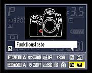 Nikon D700 — Einstellung der Funktionstaste über den Infobildschirm [Foto: MediaNord]