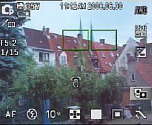 Samsung NV24 HD Aufnahmebildschirm [Foto: MediaNord]