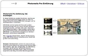 Bild 2: Photomatix Pro Tutorial [Foto: Dr. Thomas Hafen]