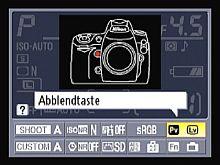 Nikon D700 – Status-Display [Foto: Yvan Boeres]