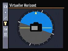 Nikon D700 – Virtueller Horizont [Foto: Yvan Boeres]