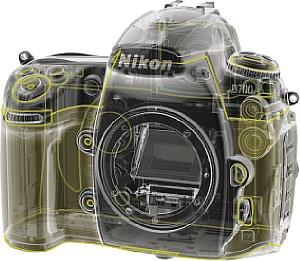 Nikon D700 Dichtungen [Foto: Nikon]