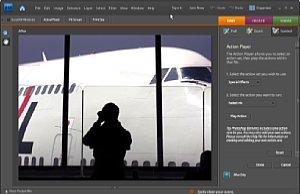 Ganz offiziell spielt Photoshop Elements jetzt auch gespeicherte Befehlsfolgen aus Photoshop-Vollversionen ab. [Foto: Heico Neumeyer]