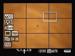 Canon EOS 5D Mark II – Aufnahmebildschirm [Foto: MediaNord]