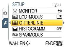 Panasonic Lumix DMC-FX37 – Setup-Menü  [Foto: Yvan Boeres]