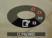 Panasonic Lumix DMC-FX37 – Clipboard-Modus [Foto: Yvan Boeres]