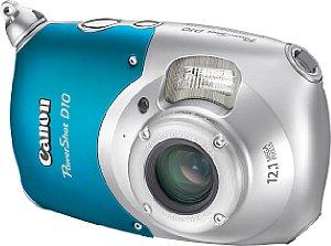 Canon PowerShot D10 Blau [Foto: Canon]