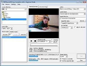 MP4Cam2AVI Programmfenster [Foto: MediaNord]