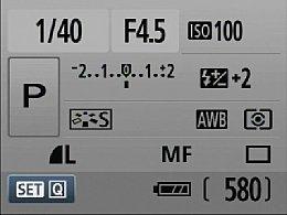 Canon EOS 500D – Infobildschirm [Foto:MediaNord]