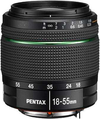 Pentax smc DA F3,5-5,6 18-55mm AL WR [Foto: Pentax]