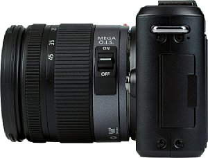 Panasonic Lumix DMC GF1 mit Lumix G Vario 14-45 mm F3.5-5.6 ASPH OIS [Foto: MediaNord]