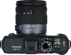 Panasonic Lumix DMC-GF1 mit Lumix G Vario 14-45 mm F3.5-5.6 ASPH OIS [Foto: MediaNord]