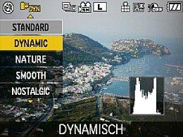 Panasonic Lumix DMC-GF1 – Quick-Menü [Foto: MediaNord]