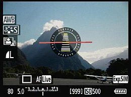 Canon EOS 7D – LiveView [Foto: MediaNord]