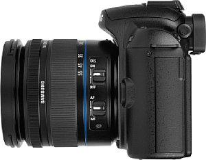 Testbericht: Samsung NX10 Spiegellose Systemkamera, Systemkamera