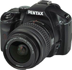 Pentax K-x mit SMC Pentax-DA L 1:3.5-5.6 18-55 mm AL [Foto: MediaNord]