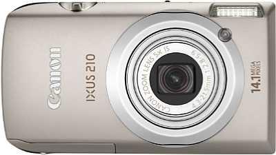 Canon Digital Ixus 210 IS [Foto: Canon]