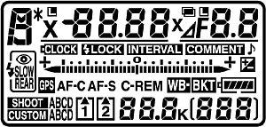 Nikon D3S LCD Top[Foto: Nikon]