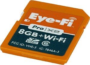 Eye-Fi Pro X2 SDHC 8 GB Wi-Fi [Foto: MediaNord]