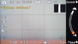 Sony NEX-5 – Hintergrund defokus [Foto: MediaNord]