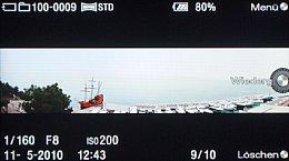 Sony NEX-5 – Wiedergabe mit Panorama [Foto: MediaNord]