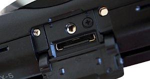 Sony NEX-5 – Zubehör- und Blitzschuh [Foto: MediaNord]