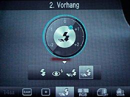 Smasung NX10 – Blitzeinstellungen [Foto: MediaNord]