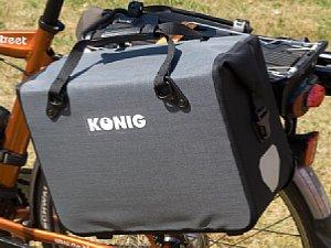 König Fahrradtasche Universaltasche Medium [Foto: MediaNord]