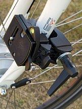 Fahrradhalterung mit der Manfrotto MA 035 Super Clamp und MA 394 [Foto: MediaNord]