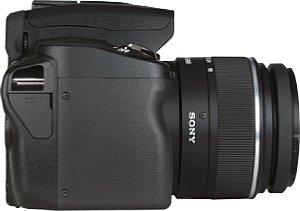 Sony Alpha 290 mit DT 3.5-6.5 18-55 mm SAM [Foto: MediaNord]