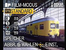 Panasonic Lumix DMC-FZ100 – Film- bzw. Farbmodus [Foto: MediaNord]