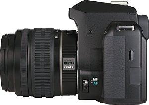 Pentax K-r mit SMC DAL 1:3.5-5.6 18-55 mm AL [Foto: MediaNord]
