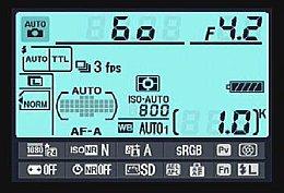Nikon D7000 – Infobildschirm [Foto: MediaNord]