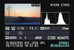 Nikon D7000 – Details in der Bildwiedergabe [Foto: MediaNord]