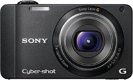 Sony DSC-WX10 schwarz [Foto: Sony]