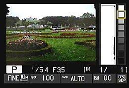 Nikon Coolpix P7000 – Wiedergabe mit Hervorhebung von Helligkeiten [Foto: MediaNord]