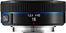 Samsung NX-Lens 16 mm i-Function Pancake [Foto: Samsung]