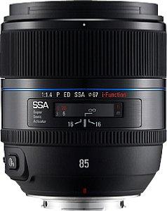 Samsung NX-Lens F1,4 ED SSA 85 mm i-Function [Foto: Samsung]