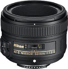 Nikon AF-S Nikkor 50mm 1:1.8 G [Foto: Nikon]