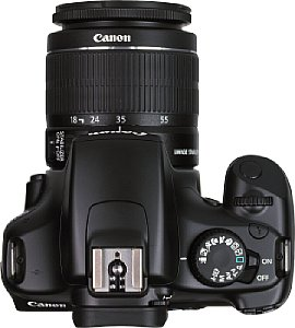 Canon EOS 1100D mit EF-S 18-55 mm 1:3.5-5.6 IS II [Foto: MediaNord]