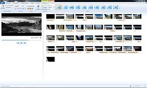 Windwos Movie Maker 11 – Textwerkzeug [Foto: MediaNord]