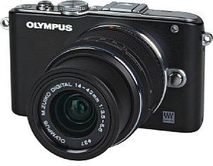 Olympus Pen E-PL3 mit 14-42 mm F3.5-5.6 II R (EZ-M1442-II R) [Foto: MediaNord]