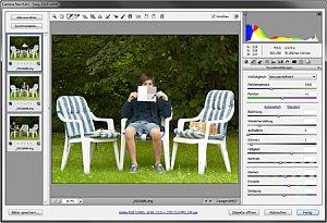 Mit der Weißabgleich-Pipette in Camera Raw wird die Farbtemperatur blitzschnell korrekt eingestellt [Foto: Martin Vieten]