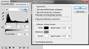Die Tonwertkorrektur von Photoshop und Photoshop Elements korrigiert die Farbwiedergabe auf Wunsch vollautomatisch [Foto: Martin Vieten]