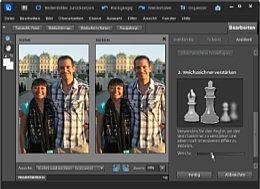 Photoshop Elements 10 Weichzeichner [Foto: Adobe]