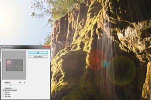 Blendenflecken lassen sich in Photoshop bei Bedarf recht einfach simulieren. [Foto: Martin Vieten]