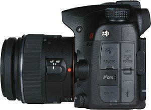 Sony Alpha 77V mit DT 18-55 mm 3.5-5.6 SAM [Foto: MediaNord]