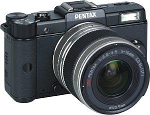 Pentax Q mit Q-Lens 5-15 mm F2.8-4.5 [Foto: Pentax]